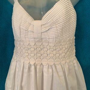 Spense size 8 white sundress